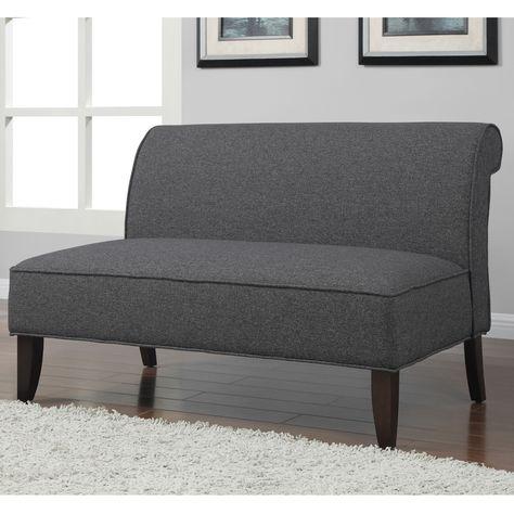 Billig Moderne Zweisitz Leder Sofa Und Loveseat Set Armlose .