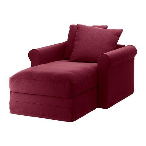 GRÖNLID Chaise - Inseros white | Living room decor furniture .