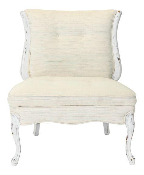 Weiße Slipper Stuhl - Weiße Slipper Stuhl : das Gefühl, eine .