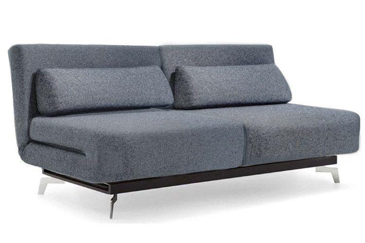 Grey Modern Futon Sofabed Sleeper   Apollo Couch Futon   The Futon .