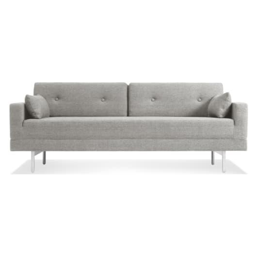One Night Stand Modern Queen Sleeper Sofa   Blu D