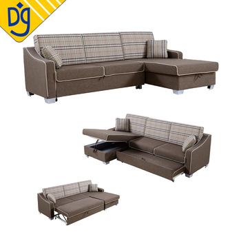 Schnitts Modernes Design L Form Sofa Cum Bett - Buy Sofa Cum Bett .