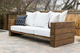 DIY-Sofa im Freien | Diy gartenmöbel, Außenmöbel und Außencou
