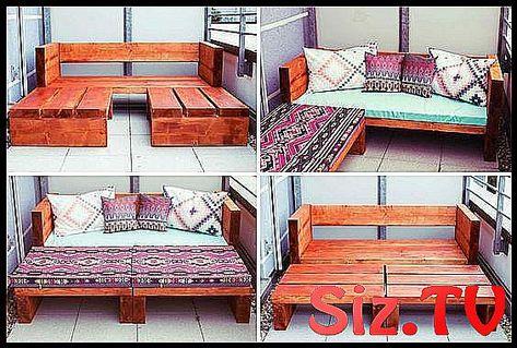 DIY Holz Sofa im Freien DIY Holz Sofa im Freien #freien | Diy .