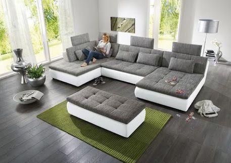 Sofa mit Bett
