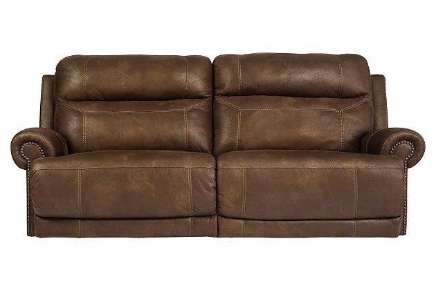 Austere Reclining Sofa   Ashley Furniture HomeSto