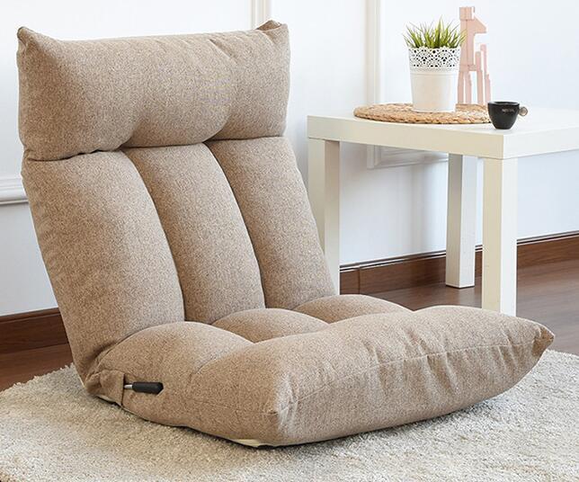 Boden Stuhl Verstellbare Rückenlehne und Kopfstütze Klapp Faul .