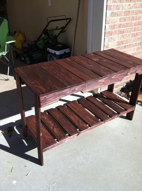 Billig und Einfach zu Machen, Paletten Sofa Tisch   Palettentisch .