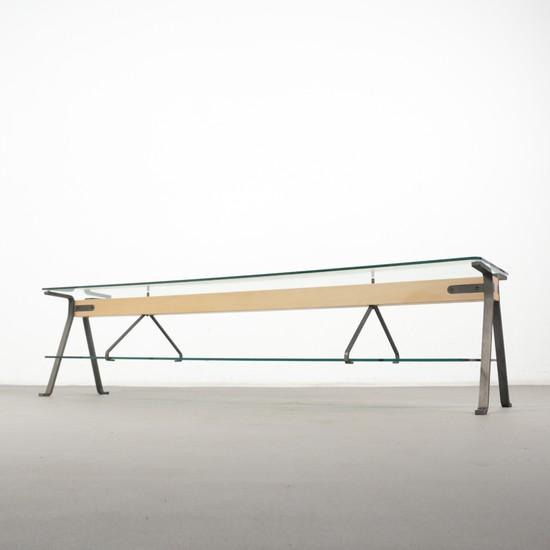 Lot-Art   Enzo Mari Beistelltisch / Sofa Tisch, Modell 'Fratello .