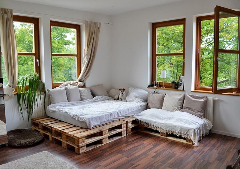 40qm, 1 Zimmer, 7 Fenster, zentral, direkt neben FH Potsdam .