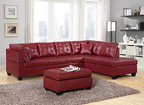Erstaunliches Angebot für GTU Furniture Pu-Leder Wohnzimmermöbel .