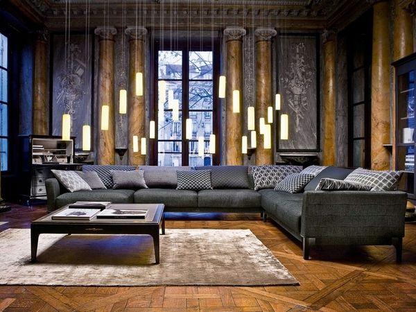 40 graue Sofaideen – ein heißer Trend für die Wohnzimmermöbel in .