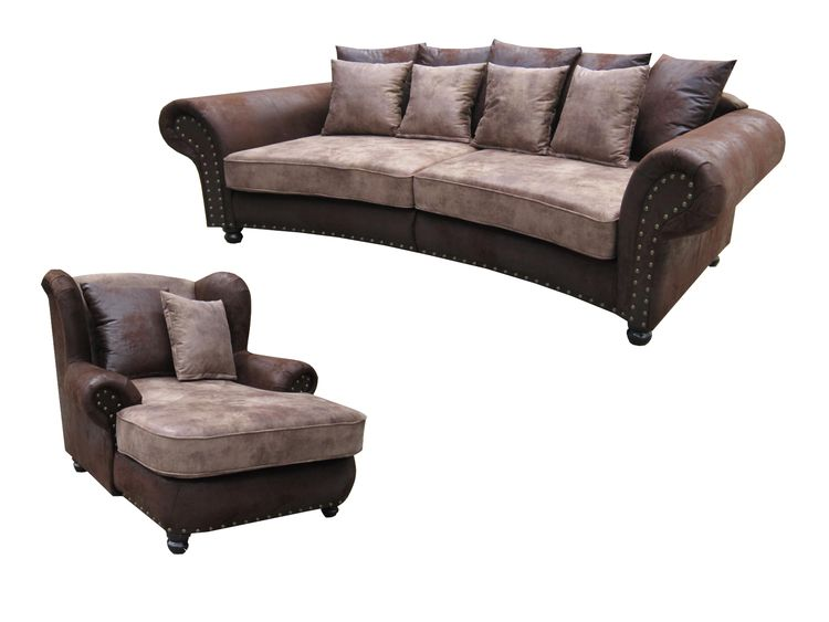 "SOFORT LIEFERBAR "" Big Sofa 274 ""Hawana""& Big Sessel Couch und ."