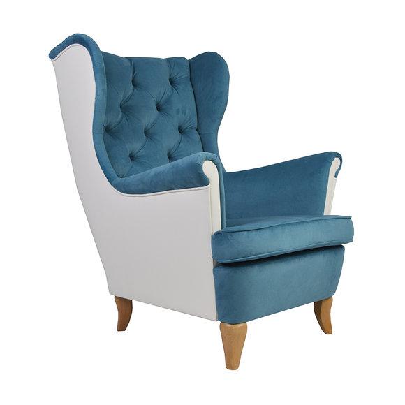 Chesterfield Design Luxus Ohrensessel Fernseh Lounge Club Sessel .