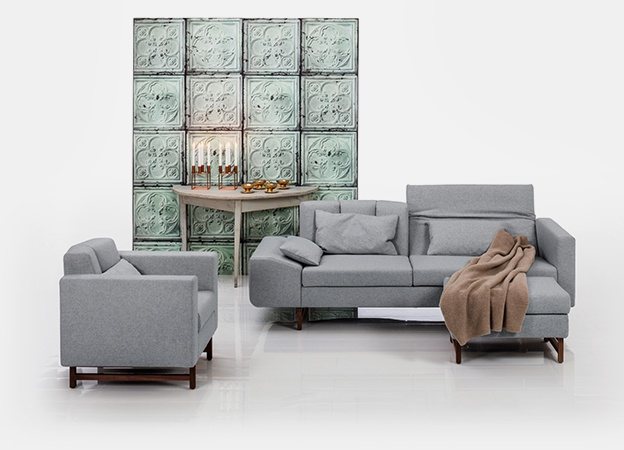 Sofa Embrace von Brühl - multifunktionales So