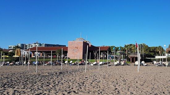 Keine Sonnenschirme - Picture of Gloria Verde Resort, Belek .