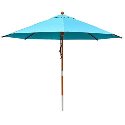anndora® Sonnenschirm Gartenschirm Marktschirm 3 m rund .
