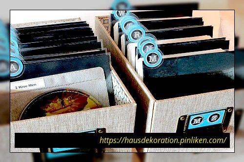 17 Kreative DVD-Speicherideen für kleinen Raum 17 Kreative DVD .