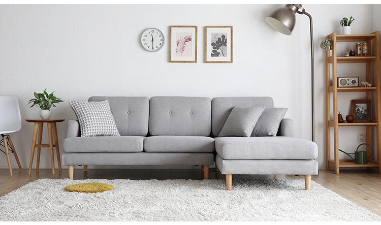 Wohnzimmer Möbel Sofa Design Moderne Schnitt Couch Stoff Sofa L .