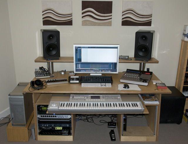 So wählen Sie den besten Studio-Schreibtisch aus | Home studio .