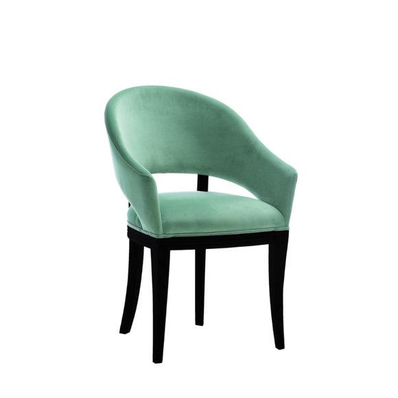 Luxus Design Polster Stuhl Stühle Sitz Lehn Büro Office Esszimmer .