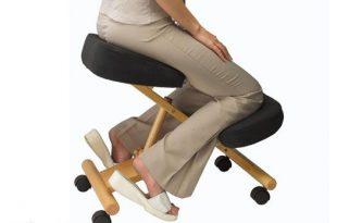 Ergonomischer Stuhl Knie