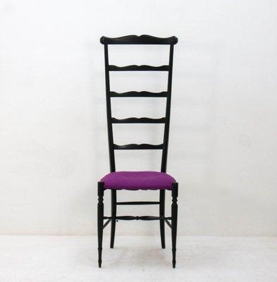 Stuhl mit Hoher Rückenlehne von Chiavari, 1920er bei Pamono kauf