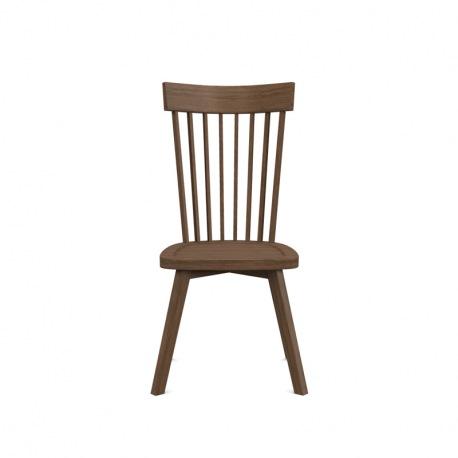 Gervasoni GRAY 21 Stuhl mit hoher Rückenlehne, Nussba