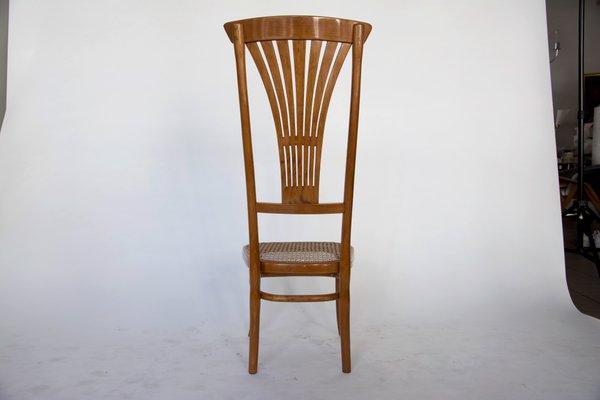 Stuhl mit Hoher Rückenlehne von Thonet, 1916 bei Pamono kauf