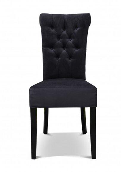 CHESTERFIELD Designer Stuhl FLORIDA in Massiv oder Leder oder .