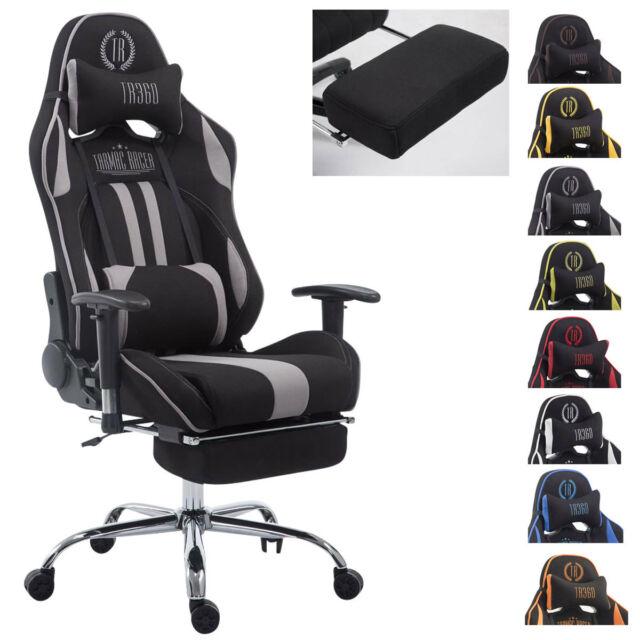 DXRacer Racing Rw01 Gaming Stuhl Stoff - schwarz günstig kaufen | eB