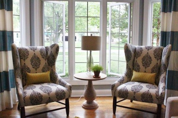 furniture gorgeous chairs living room using wingback chair fabric .