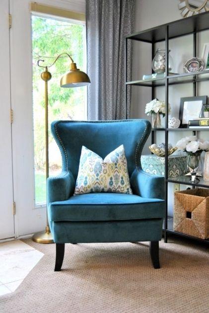 Blue Accent Stühle Für Wohnzimmer | Wohnzimmer stühle, Wohnzimmer .