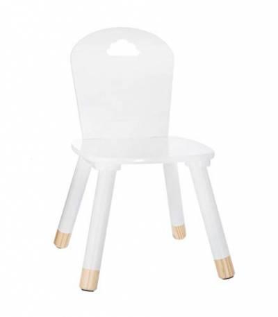Wolken-Dekor Farbe ROSA Stuhl aus Holz für Kinder Möbel & Zubehör .