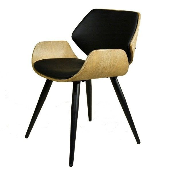 Esszimmer-Stuhl PlyComfort Vintage gepolstert | Fabrikschick .