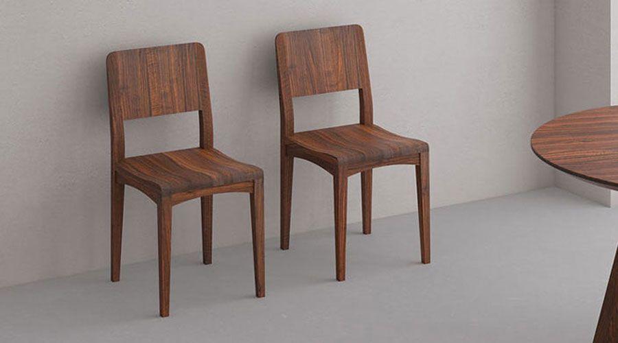 Massivholz Stuhl INTUS in 2020 | Stühle, Holz und Dek
