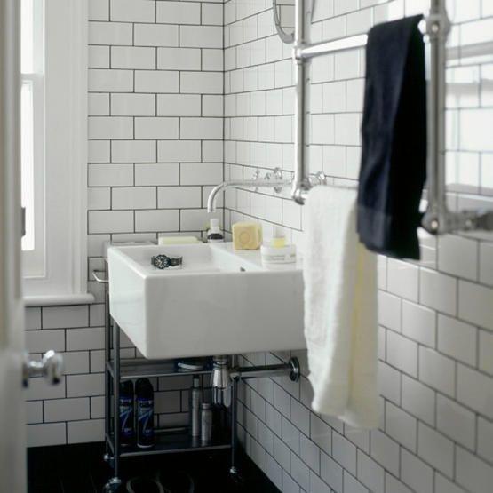 metro fliesen weiß dunkle fuge - Google-Suche | Badezimmer fliesen .