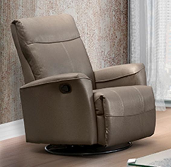 Elran L0032 Power Swivel Glider Recliner | Johnson Furniture .