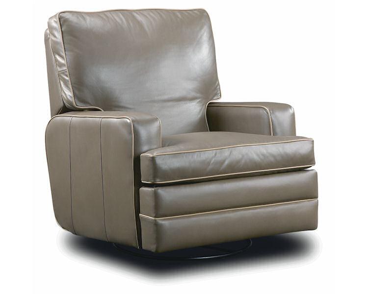 Leathercraft Hale Swivel Recliner 2947SR - Leather Furniture U
