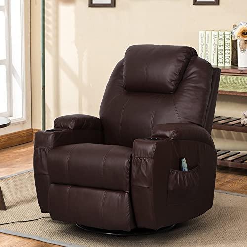Swivel Rocker Recliner Chairs: Amazon.c