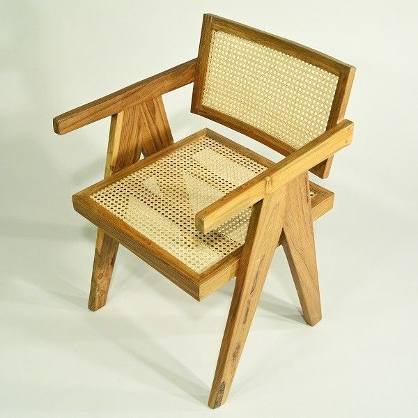 Stuhl Mid-Century Common | Teak Stuhl Retro-Vintage Design .