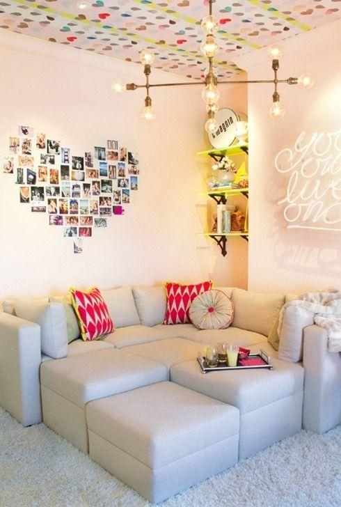 Coole Teenager Zimmer – Ideen, die jedes Mädchen lieben würde .