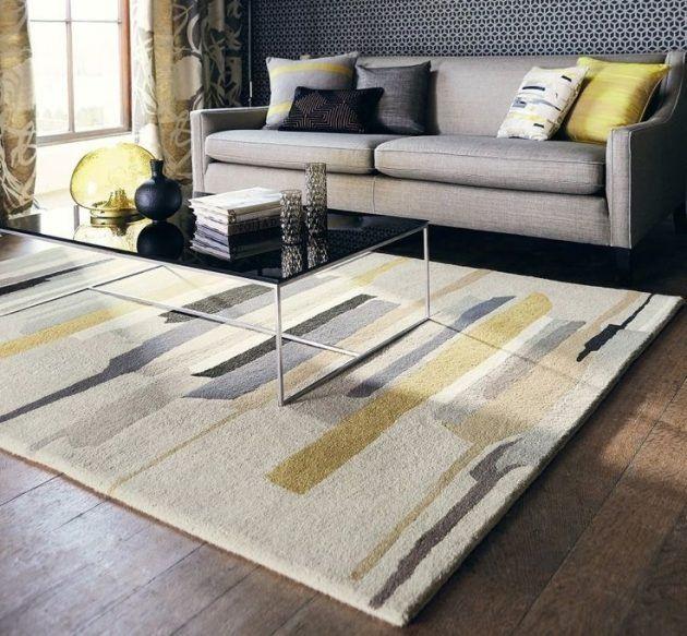 16 attraktive Teppich-Designs, um Ihr Interieur zu gestalten .