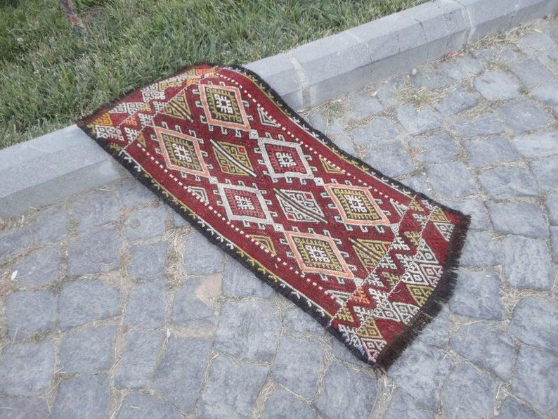 im Freien Brokat Teppich Jahrgang Teppich Teppich 36'' x 16 .
