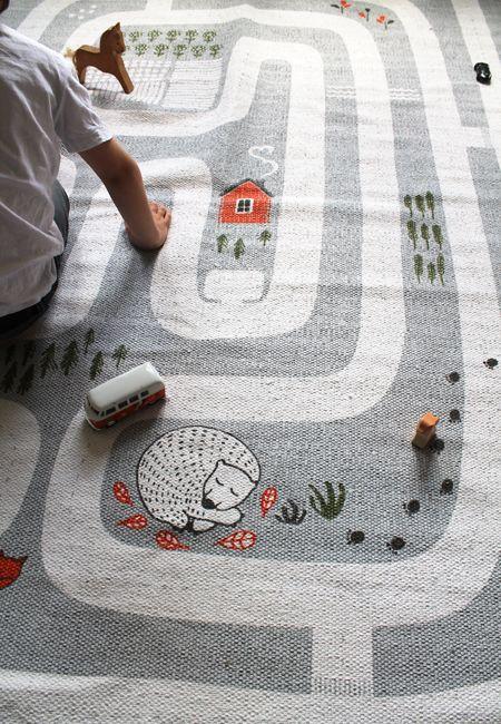 Finarte Maalla Spielteppich | Spielteppich, Teppich junge und .