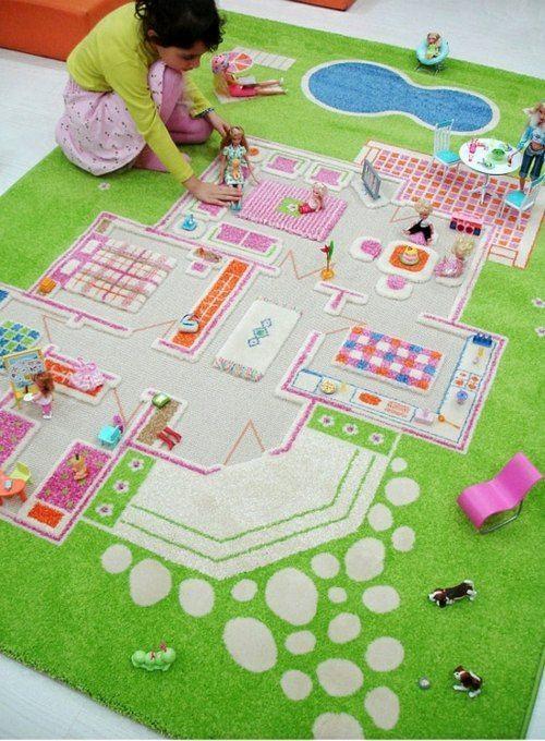 Teppich für Kinder – 14 bunte Ideen für Kinderzimmer Gestaltung .