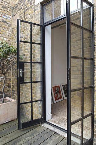 Auswahl einer Art von Terrassentüren für Gartenzimmer - Balkony .