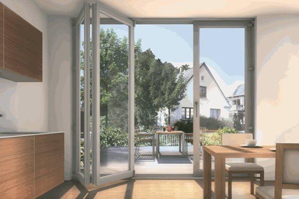 Terrassentüren und Balkontüren aus Kunsstoff   DECEUNIN