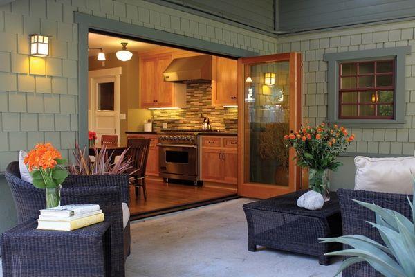 Terrassentüren – ein fließender Übergang zwischen Innen- und .