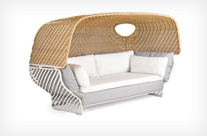 TIGMI Tiefes Sofa mit Dach TIGMI | Tiefschl